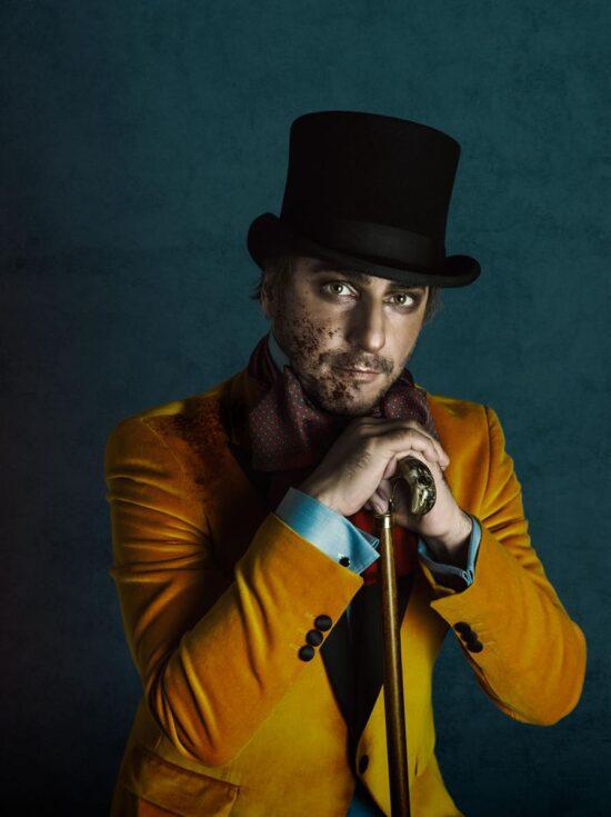 Fotografía de retrato de Jordi Roca para la revista Esquire Magazine, por Lidia Vives