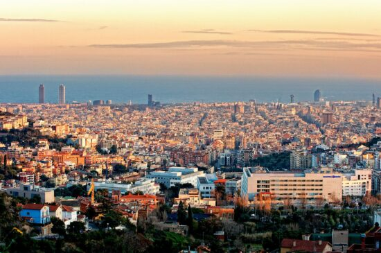Fotografía de arquitectura para el hospital de Barcelona del Grupo Hospitalario Quirón