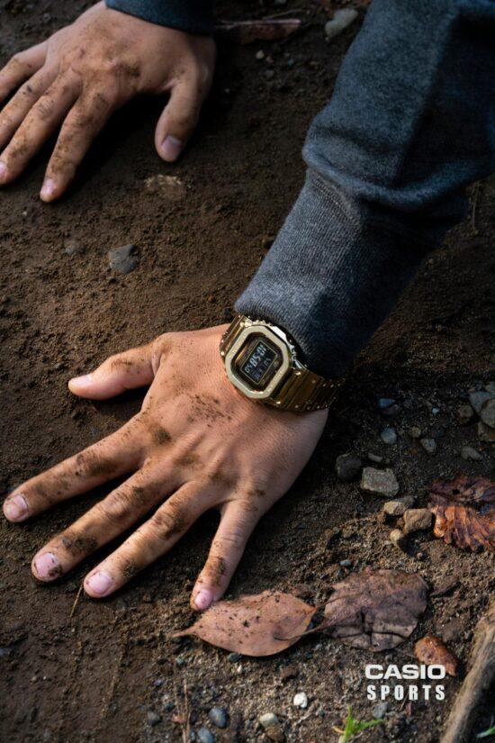 Reportaje de fotografía de producto para la marca de relojes Casio, por Alejandra Carles-Tolrá